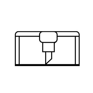 Icon für Folienplotts